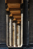 Corinthian colonnade Royalty Free Stock Photo