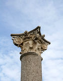 Corinthian column Royalty Free Stock Image