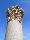 Corinthian column 2. Top of Corinthian style Column Israel Royalty Free Stock Image