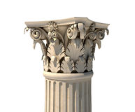 Corinthian column capital Stock Photos