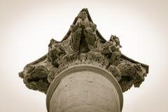 Corinthian column capital Royalty Free Stock Photography