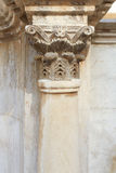 Corinthian column and capital Stock Images
