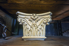 Corinthian Column Capital Study II Royalty Free Stock Image