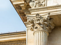 Corinthian Column Close Up Stock Photography