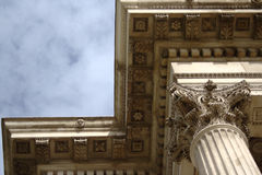 Corinthian Column and Entablature Royalty Free Stock Photo