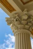 Corinthian Column. An example of a Corinthian column Stock Photo