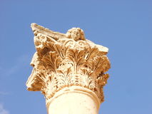 Corinthian column Royalty Free Stock Images