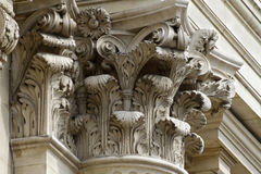 Corinthian Column Top Stock Image