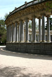 Corinthian columns. In Retiro Park, Madrid, Spain stock photos