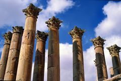 Corinthian columns Royalty Free Stock Photos