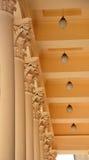 Corinthian columns Stock Photography