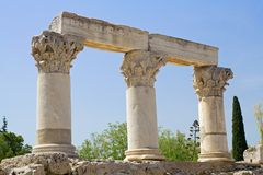 Corinthian columns Royalty Free Stock Photo