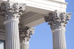 Corinthian columns Stock Photos