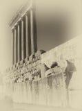 Corinthian Columns at Baalbek Royalty Free Stock Image
