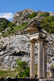 Corinthian Columns in Glanum Stock Photos