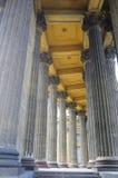 Corinthian Columns of Kazan Cathedral Royalty Free Stock Photos