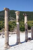 Corinthian columns near the agora Stock Photography