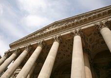 Corinthian columns Royalty Free Stock Image