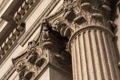Corinthian Columns Top Detail Royalty Free Stock Photos