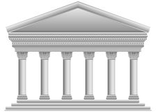 Corinthian Greek temple Royalty Free Stock Photo
