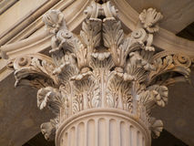 Corinthian Pillar Royalty Free Stock Photography