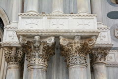 Corinthian Pillars Royalty Free Stock Photography