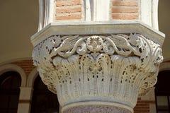 Corinthian rosette design Royalty Free Stock Image