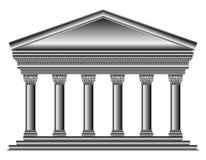 Corinthian temple Stock Image