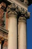 Corinthische capitol Stock Fotografie