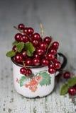 Corintos maduros vermelhos Imagem de Stock