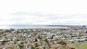 Corio bay, southwest corner of Australia's Port Phillip royalty free stock photos