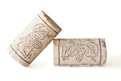 cork вино Стоковые Фото