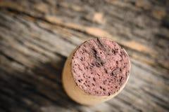 cork одиночное вино Стоковые Изображения