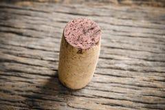 cork одиночное вино Стоковое Фото