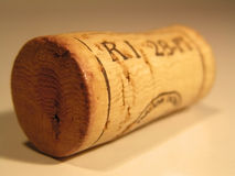 Cork. Wine bottle cork Royalty Free Stock Images