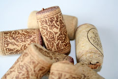 Cork. Macro-shot of corks Stock Photo