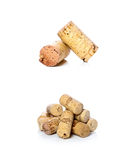 Cork. Wine corks much flavor tasting Royalty Free Stock Image
