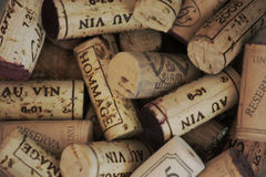 Cork. Fine corks in a glass Stock Image