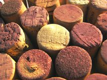 Cork. Close-up wine cork texture Stock Photo