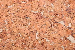 Cork background. Rugged piece of bronze-colored backgrounds Royalty Free Stock Image