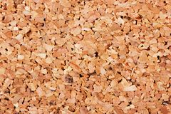 Cork background extreme macro Royalty Free Stock Images