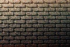 Cork bakstenen muur Royalty-vrije Stock Afbeeldingen
