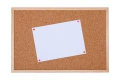 Cork board stock image