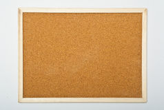 Cork board. Blank and isolated Royalty Free Stock Photography