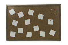A cork board Stock Photography