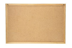 Cork Board. On White Background Royalty Free Stock Photography
