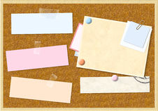 Cork board Stock Images