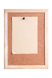 Cork Board Fotografia Stock