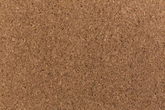 Cork board background texture brown color close Royalty Free Stock Photos