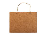 Cork board. Brown cork board isolated over white background Royalty Free Stock Image